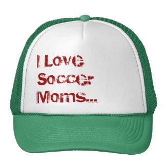 J'aime des mamans du football… (le chapeau) casquette de camionneur