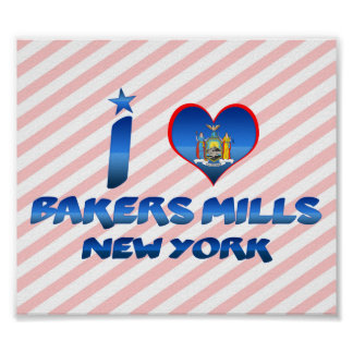 J'aime des moulins de boulangers, New York Affiches