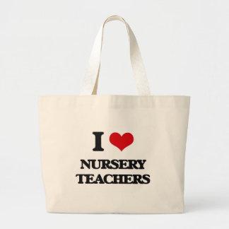 J'aime des professeurs de crèche sac