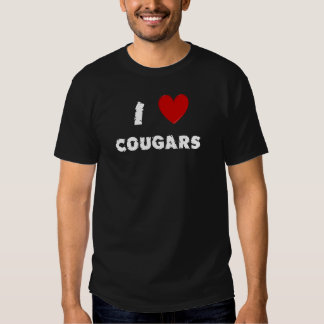 J'aime des pumas tee-shirts