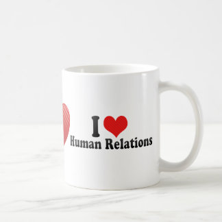 J'aime des relations humaines mugs