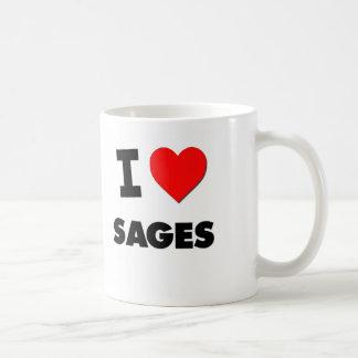 J'aime des sauges mug