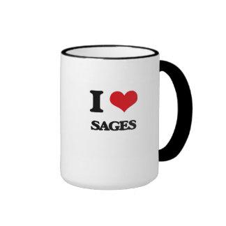 J'aime des sauges tasse à café