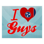J'aime des types, Tennessee Affiches