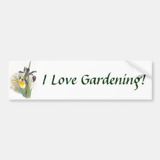 J'aime faire du jardinage ! Adhésif pour pare-choc Autocollant De Voiture