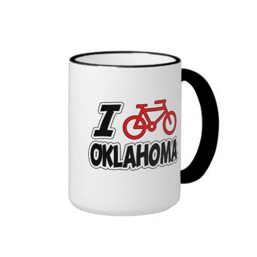 J'aime faire un cycle l'Oklahoma Tasse
