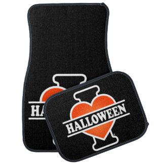 J'aime Halloween #1 Tapis De Voiture