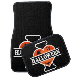 J'aime Halloween #2 Tapis De Voiture