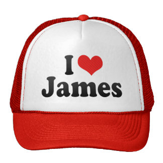 J'aime James Casquettes De Camionneur