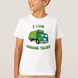 J'aime la chemise de nourrisson d'enfants de t-shirt