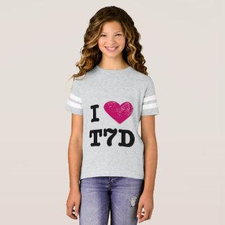 J'aime la chemise de t7d t-shirt