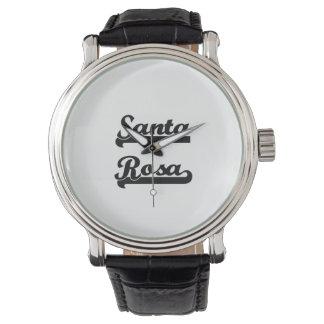 J'aime la conception classique de Santa Rosa la Montres