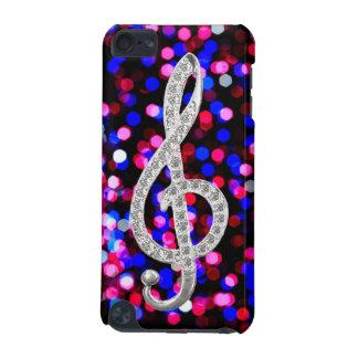 J'aime la G-clef de musique Coque iPod Touch 5G