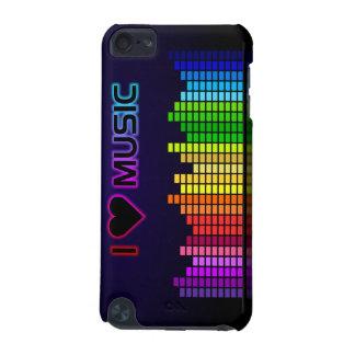 J'aime la musique avec le cas de contact d'Equiliz Coque iPod Touch 5G