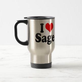 J'aime la sauge tasse à café