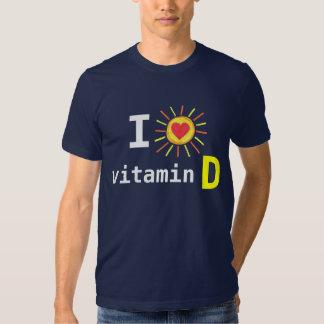 J'aime la vitamine D T Shirts