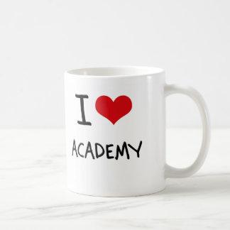 J'aime l'académie tasse