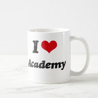 J'aime l'académie tasses