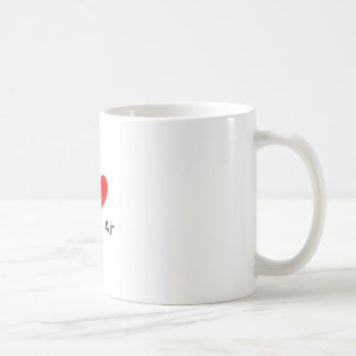 J'aime l'air de boulangerie mug blanc