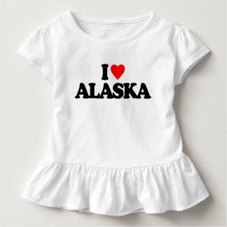 J'AIME L'ALASKA T-SHIRT POUR LES TOUS PETITS