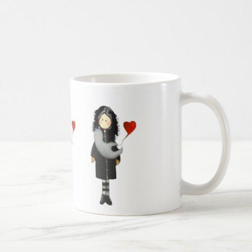 J'aime le café mugs