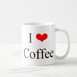 J'aime le café tasse à café