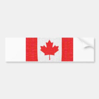 J'aime le Canada ! Conception canadienne de regard Autocollant De Voiture