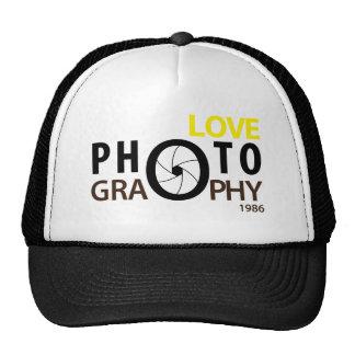 j'aime le casquette de photographie