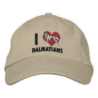 J'aime le chapeau brodé par Dalmates