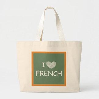 J'aime le français sac fourre-tout