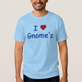 J'aime le gnome tshirt