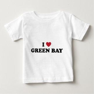 J'aime le Green Bay le Wisconsin T-shirt