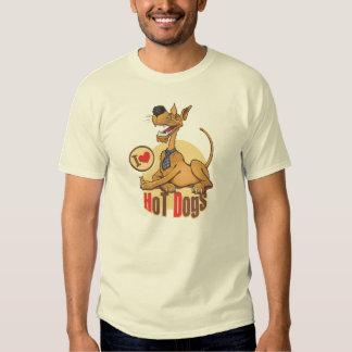 J'aime le hot-dog t-shirts