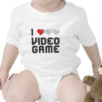 J'aime le jeu vidéo body pour bébé