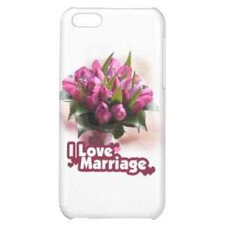 J'aime le mariage de mariage étui iPhone 5C