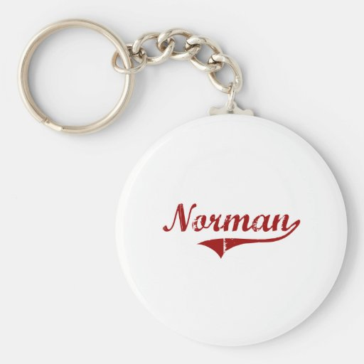 J'aime le Normand l'Oklahoma Porte-clef