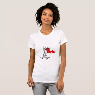 J'aime le Paris (I Love Paris) T-Shirt