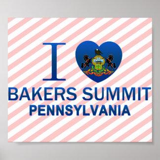 J'aime le sommet de boulangers, PA Posters