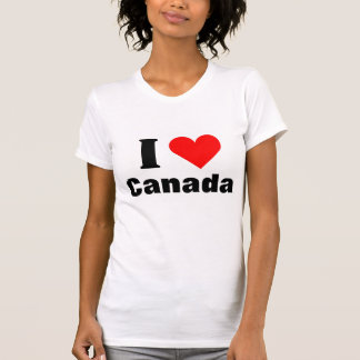 J'aime le T-shirt de coeur du Canada