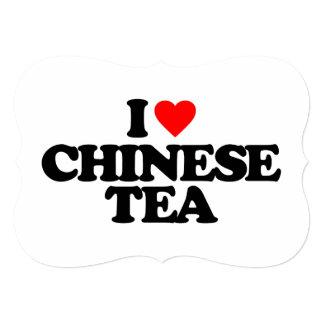 J'AIME LE THÉ CHINOIS FAIRE-PART PERSONNALISÉ