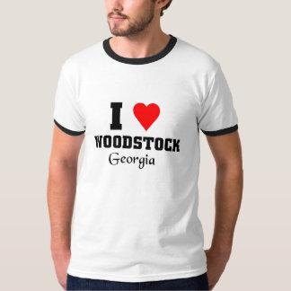 J'aime le woodstock, la Géorgie T-shirt