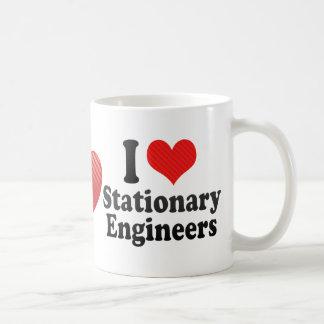 J'aime les ingénieurs stationnaires tasse à café