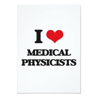 J'aime les physiciens médicaux faire-part personnalisables
