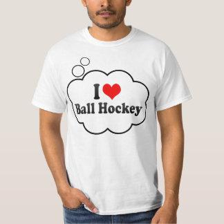 J'aime l'hockey de boule tee shirt
