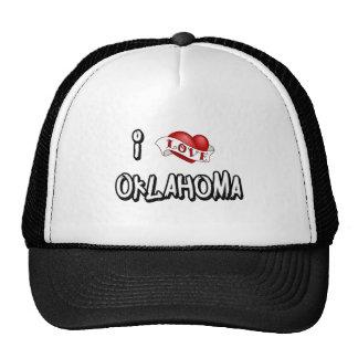 J'aime l'Oklahoma Casquettes