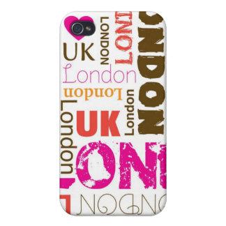 J'aime londen le coque iphone de voyage de ville coques iPhone 4/4S