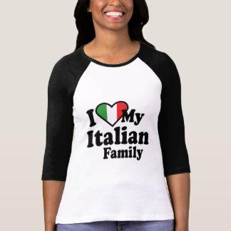 J'aime ma famille italienne t-shirt