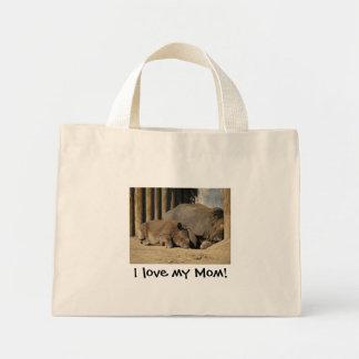 J'aime ma maman ! Fourre-tout Sac En Toile Mini