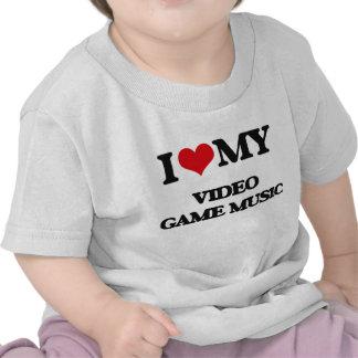 J'aime ma MUSIQUE de JEU VIDÉO T-shirts