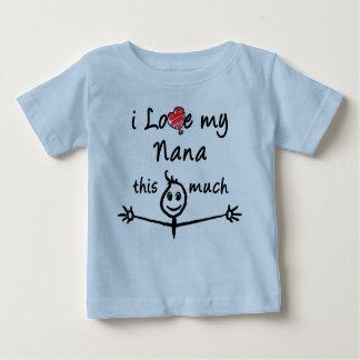 J'aime ma Nana ! (Grand-papa) T-shirt Pour Bébé